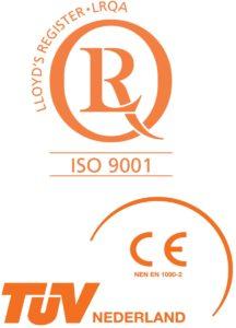 Betech ISO 9001 & TüV