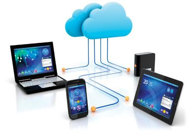 Achtergrond foto Betech Group in the cloud