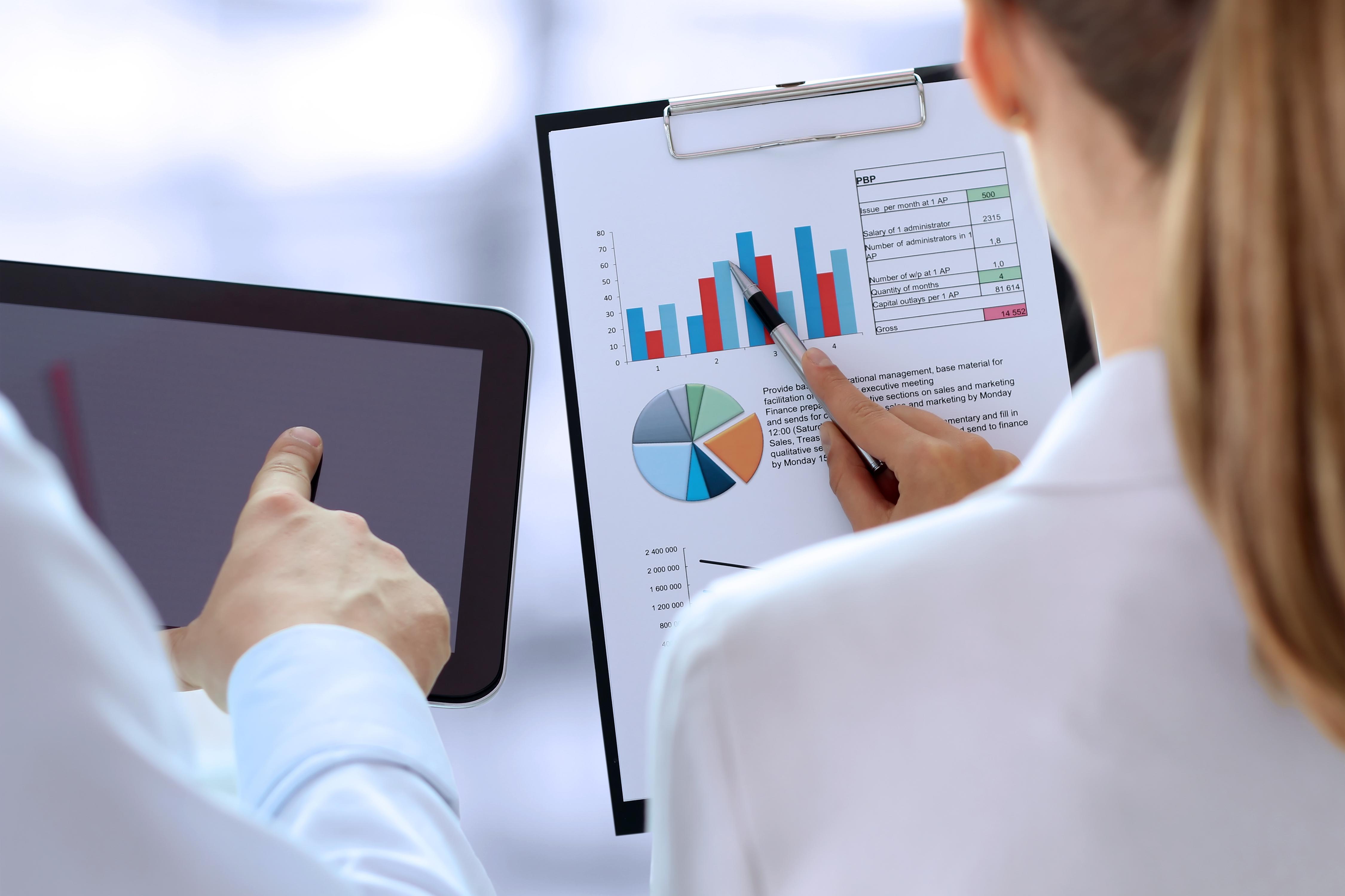 Achtergrond foto (SPC) Statistische Proces Controle