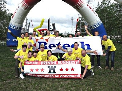Roparun Drenthe Runners Betech Group