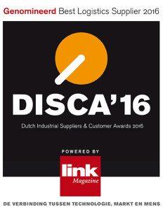 Betech best Dutch Industrial Suppliers en Customers Award 2016