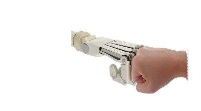 Robot en mens werken samen