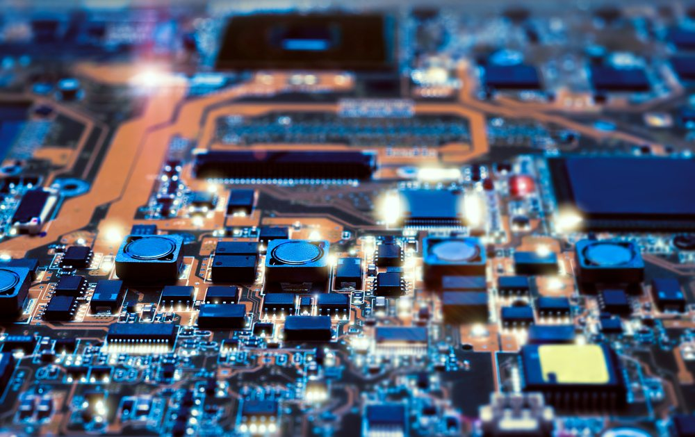 Achtergrond foto High Tech Industrie