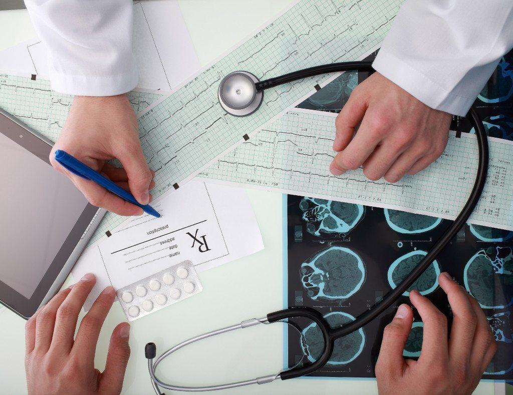 Achtergrond foto Medizintechnik
