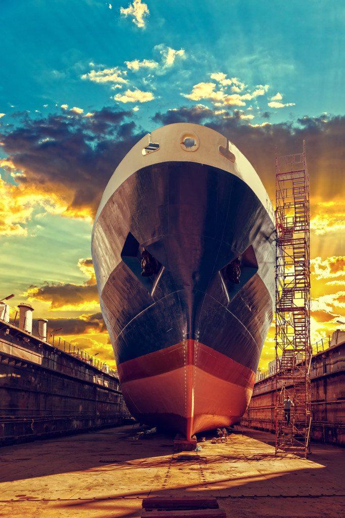 Achtergrond foto Shipbuilding & Offshore