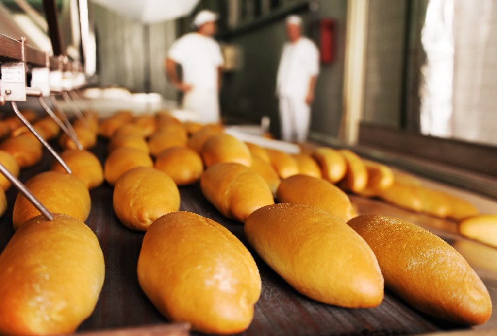 Achtergrond foto Lebensmittelindustrie