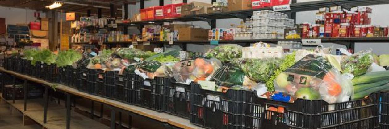 Achtergrond foto Bescherm uw medewerkers én steun de Nationale Voedselbank
