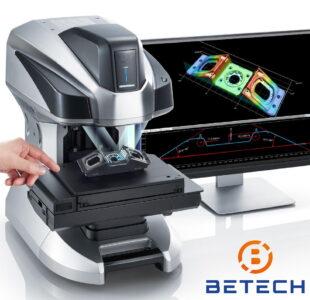 Spuitgietproducten contactloos scannen en meten