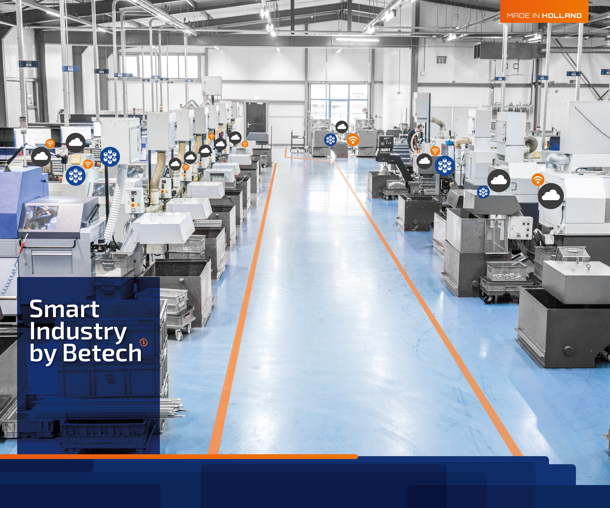 Achtergrond foto Substantial expansion of production capacity | Betech Mass Turning