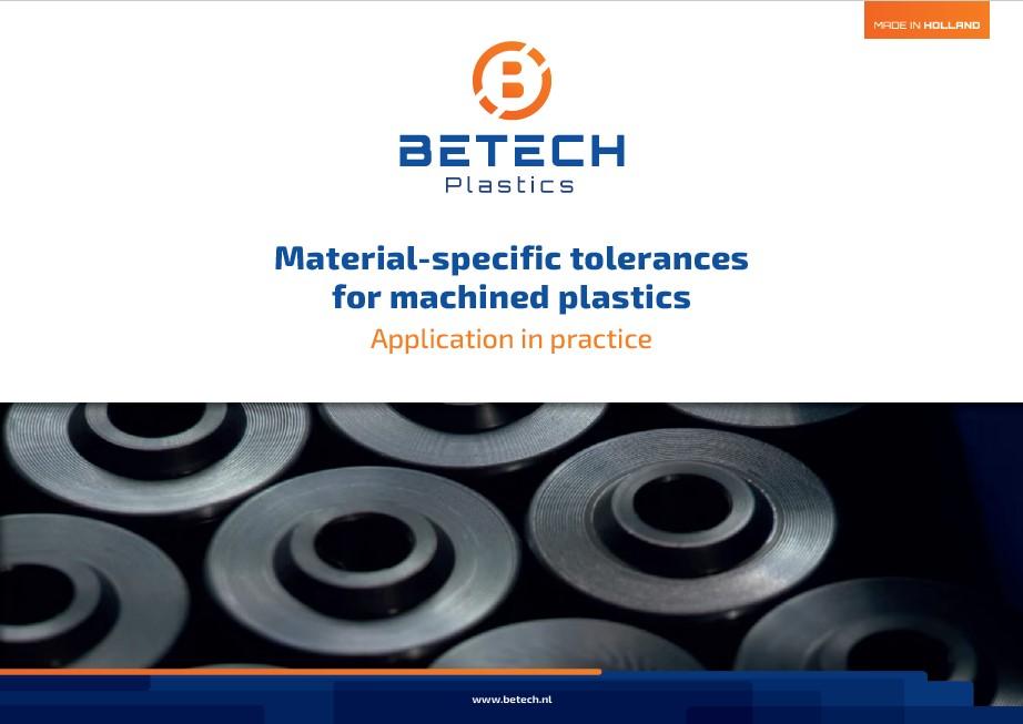 Achtergrond foto Material-specific Tolerances For Machined Plastics
